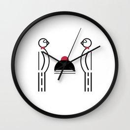 Butler Birds Wall Clock