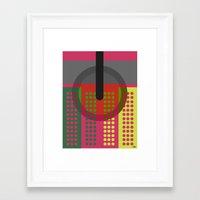 dj Framed Art Prints featuring DJ. by Juan Carlos Campos