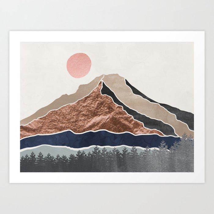 Mount Hood Oregon - Daylight Wilderness Kunstdrucke