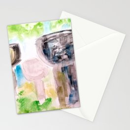 Latte Stones  Stationery Cards