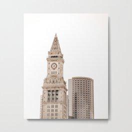 Boston Architecture Metal Print