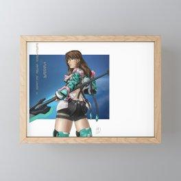 PSO2 Thora Framed Mini Art Print