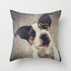 Jack Russel Terrier Throw Pillow