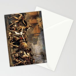 The Intercession of the Sabine Women Stationery Cards