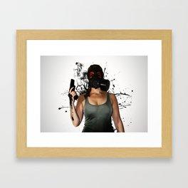 Bellatrix - Horizontal Framed Art Print