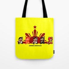 8-bit Andres Bonifacio 2 Tote Bag