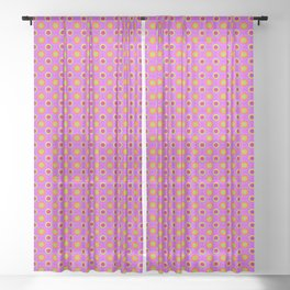 Glo-Dots! Sheer Curtain