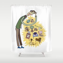 Jean-Paul  Shower Curtain