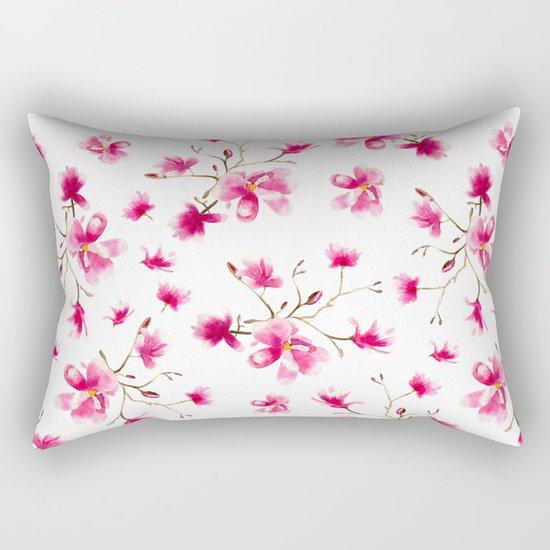 Magnolia blossom Rectangular Pillow