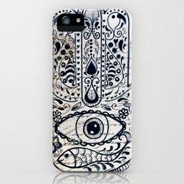 Hamsa Evil Eye for Protection iPhone Case