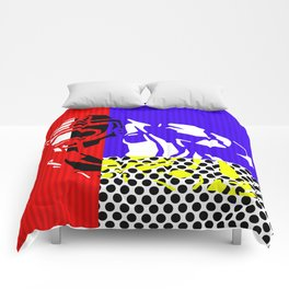 Boyfriend Gamer Art Comforters