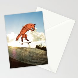 Skateboard FOX! Stationery Cards