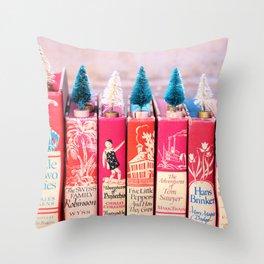 Classic Christmas Chr Throw Pillow