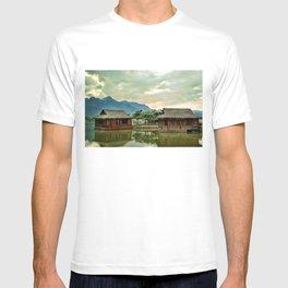 Water Huts T-shirt