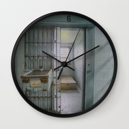 Solitary Confinement Cell Wall Clock