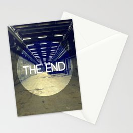 The End Stationery Cards