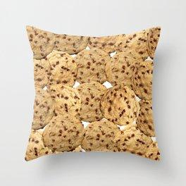 Homemade Chocolate Chip Cookies Throw Pillow