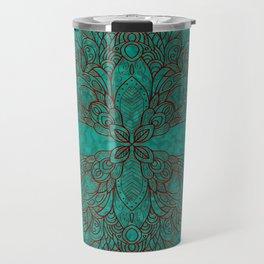 Elegant ribbon Travel Mug