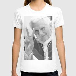 Pope Benedict Peace'n'Love T-shirt