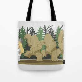 Where The Wild Clumps Are Tote Bag