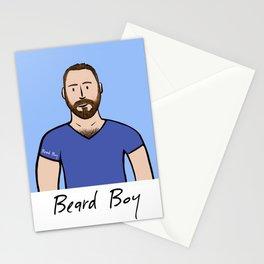 Beard Boy: Matthias Stationery Cards