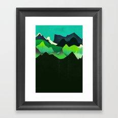 Landscape Slice Framed Art Print