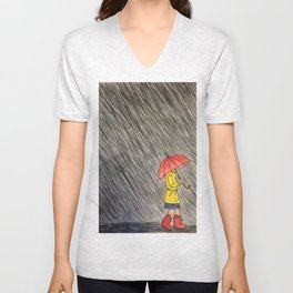 Torrential Downpour Unisex V-Neck