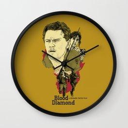 Blood Diamond Wall Clock