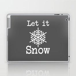 Let it Snow! Laptop & iPad Skin