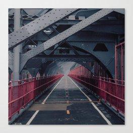 Williamsburg Bridge #1 Canvas Print