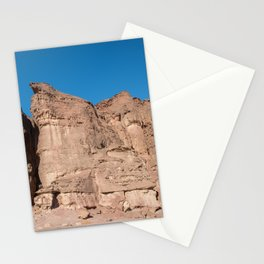 the solomons pillars in timna national park in israel near Eilat Stationery Cards