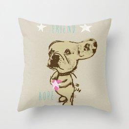 Charley - Friend of Lelu Throw Pillow