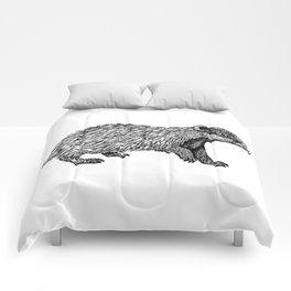 British Badger Zentangle Comforters