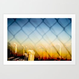 Morning Traffic Art Print