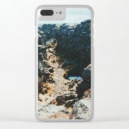 Thingvellir I Clear iPhone Case