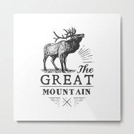 american deer Metal Print