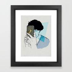 smart ZOMBIE series-4 Framed Art Print
