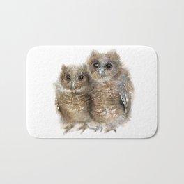 Baby Owls Bath Mat