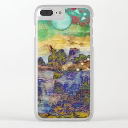 City of my Dreams Clear iPhone Case