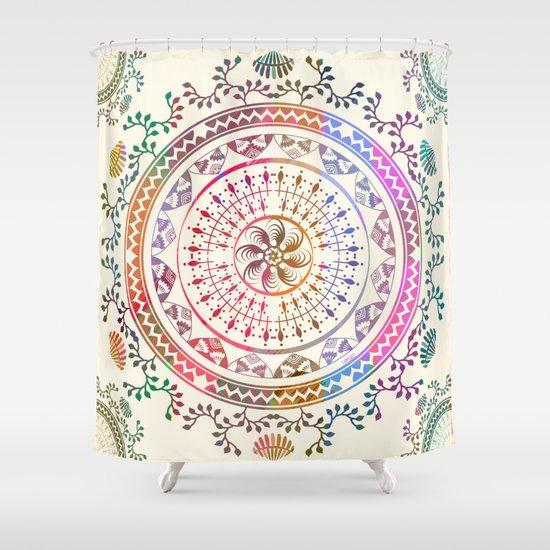 Mandala Shower Curtain By Famenxt