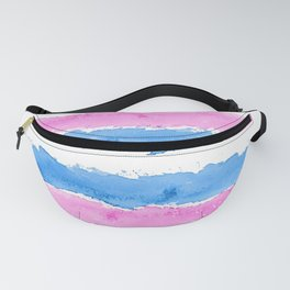 Trans Colors - Love Is Love Fanny Pack