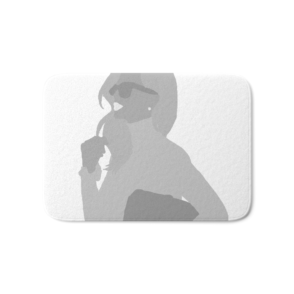 Woman Light - Fashion, Style, Sunglasses, Purse, Lips Bath Mat by pavlova (BMT6800713) photo