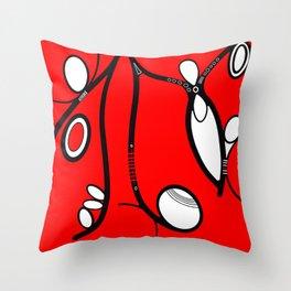 Man & Woman Throw Pillow