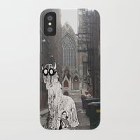 pittsburgh iPhone & iPod Cases featuring Pittsburgh Lurkers by Christine Eglantine
