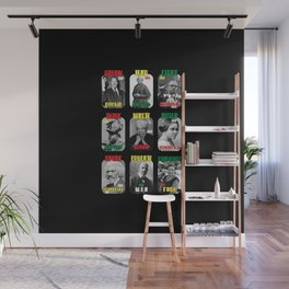 Black history month pride 2020 activists Wall Mural