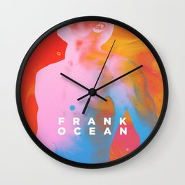 Frank Channel Orange Fan Made Artwork Wall Clock