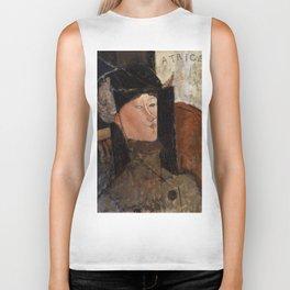 "Amedeo Modigliani ""Beatrice Hastings"", 1916 Biker Tank"