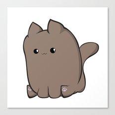 Cube Cat Canvas Print