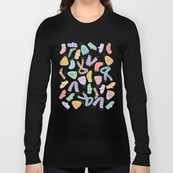 Winter pattern Long Sleeve T-shirt