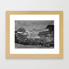 GO BOMBERS Framed Art Print